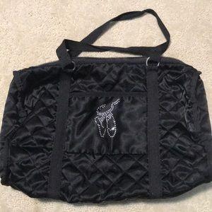 Capezio black silky dance bag